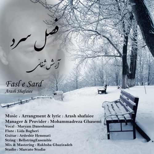 دانلود موزیک جدید فصل سرد از آرش شفائی