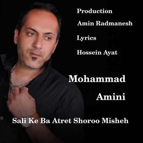 دانلود موزیک جدید سالی که با عطرت شروع میشه از محمد امینی
