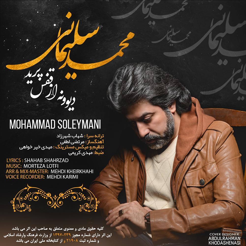 دانلود موزیک جدید دیوونه از قفس پرید از محمد سلیمانی
