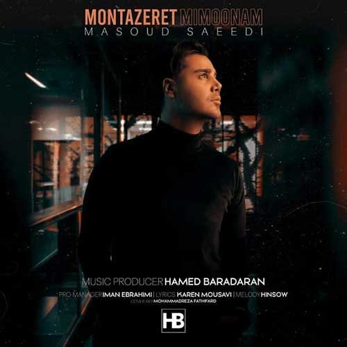 دانلود موزیک جدید منتظرت میمونم از مسعود سعیدی