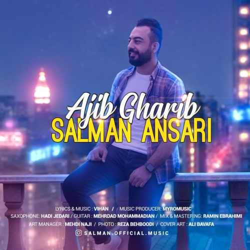 دانلود موزیک جدید عجیب غریب از سلمان انصاری